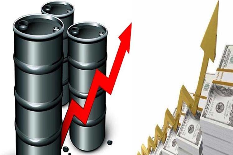 precio del petróleo mexicano hoy